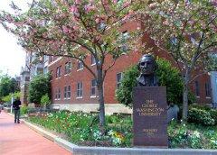 乔治华盛顿大学世界排名(2021QS)